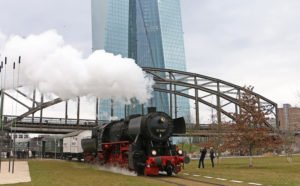 Adventsfahrten auf der Hafenbahn @ Frankfurt/Main, Eiserner Steg