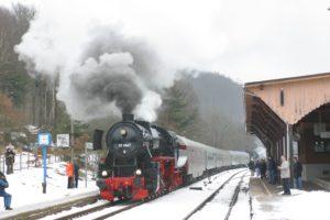 """Dampfsonderzug """"Der Michelstädter"""" @ Dampfsonderzug zum Weihnachtsmarkt Michelstadt"""