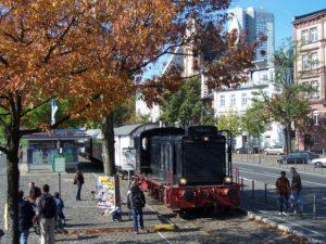 Sommerdiesel auf der Hafenbahn @ Frankfurt/Main, Eiserner Steg
