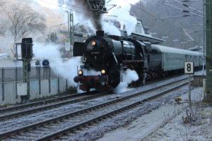 """Dampfsonderzug Riesling Express @ Sonderzug nach Hattenheim zur Veranstaltung """"Natur Pur"""""""