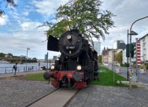 "Hafenbahn ""Halloween Express"" @ Frankfurt/Main, Eiserner Steg"