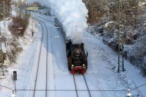 Dampfsonderzug Europe Express @ Sonderzug zum Weihnachtsmarkt Strasbourg