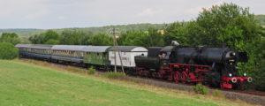Dampfsonderzug Siebengebirge @ Sonderzug nach Linz am Rhein
