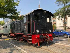 Diesel Fahrtag auf der Hafenbahn @ Frankfurt/Main, Eiserner Steg