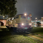 218 105-5 auf der Frankfurter Hafenbahn (x.09.2021 - Foto: Timon Kuchenbecker)